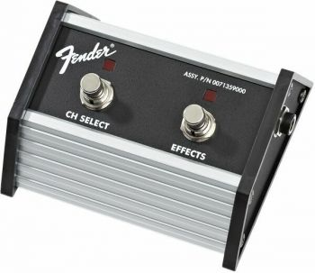 Fender 2-Button Footswitch: Channel Select/Effects On/Off