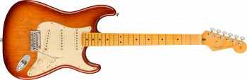 Fender American Professional II Stratocaster, Maple Fingerboard, Sienna Sunburst
