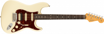 Fender American Professional II Stratocaster® HSS, Rosewood Fingerboard, Olympic White