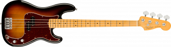 Fender American Professional II Precision Bass, Maple Fingerboard, 3-Color Sunburst