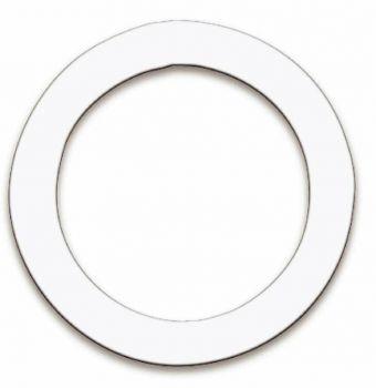 """Remo DM-000501 Sagoma per taglio foro pelle cassa bianco da 5"""""""