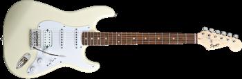 Fender Bullet Stratocaster HSS, Laurel Fingerboard, Arctic White