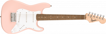 Fender Squier Mini Stratocaster, Laurel Fingerboard, Shell Pink
