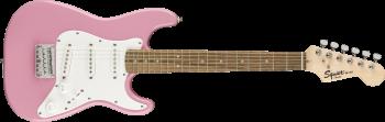 Fender Squier Mini Stratocaster V2,Laurel Fingerboard, Pink SPEDIZIONE GRATUITA!!!