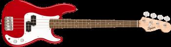 Fender Squier Mini P Bass Basso Elettrico a Scala Ridotta Dakota Red