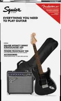 Fender Squier  PK AF STRAT HSS LRL CFM