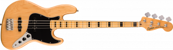 Fender Squier Classic Vibe '70s Jazz Bass, Maple Fingerboard, Natural
