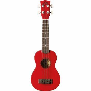 Eko Guitars - Uku Primo Ukulele Soprano Red