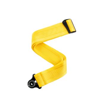 D'Addario 50BAL07 Tracolla per chitarra con sistema Auto Lock - Mellow Yellow