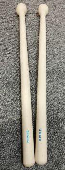 Amat 75/C Copppia bacchette per tamburo da banda