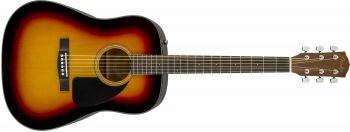 Fender CD-60 Dread V3 DS SB WN Spedizione gratuita!!!