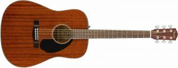Fender CD-60S Dreadnought, Walnut Fingerboard, All-Mahogany Spedizione Gratuita!!!!