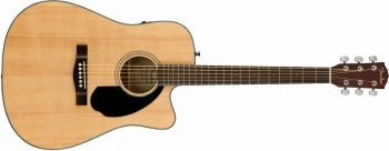 Fender CD-60SCE Dreadnought, Walnut Fingerboard, Natural Spedita Gratis!!!!
