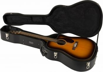 Fender CD-140SCE Dreadnought, Walnut Fingerboard, Sunburst con case