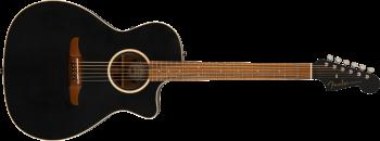 Fender Newporter Special, Pau Ferro Fingerboard, Matte Black w/bag