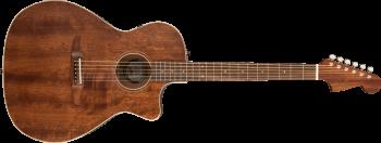 Fender Newporter Special Chitarra Acustica Elettrificata All Mahogany Natural con Borsa