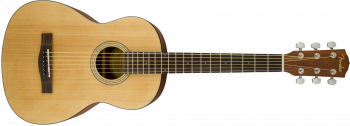 Fender FA-15 3/4 Scale Steel con Gig Bag, Walnut Fingerboard, Natural (acustica 3/4)