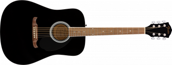 Fender FA-125 Dreadnought, Walnut Fingerboard, Black