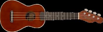 Fender Venice Soprano Ukulele, Walnut Fingerboard, Natural