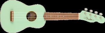 Fender Venice Soprano Ukulele, Walnut Fingerboard, Surf Green