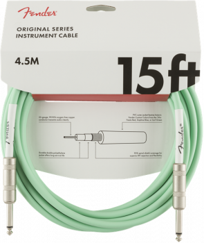 Fender Original Series Instrument Cable, 15', Surf Green  4,5 metri
