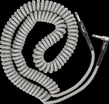 Fender Professional Coil Cable, 30', White Tweed mt 9 Cavo per Chitarra