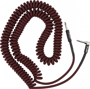 Fender Professional Coil Cable, 30', Red Tweed mt 9 Cavo per Chitarra