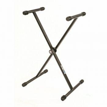 """Quik Lok T/10 BK Supporto Tastiera a """"X"""""""