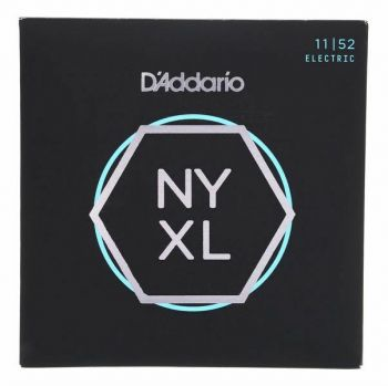 D'Addario NYXL1152 Nickel Wound Medium 11-52
