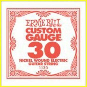 Ernie Ball 1130 - corda .030 - avvolgitura in acciaio nichela