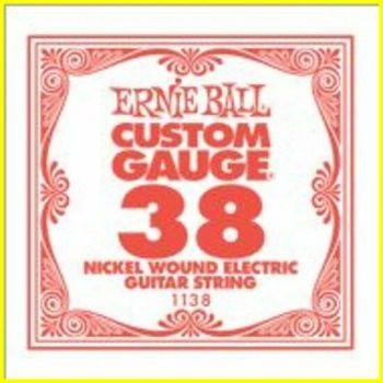 Ernie Ball 1138 - corda .038 - avvolgitura in acciaio nichela