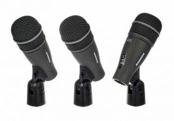 Samson DK703 - Set di Microfoni per Batteria - 3 pezzi.SPEDIZIONE GRATUITA!!!