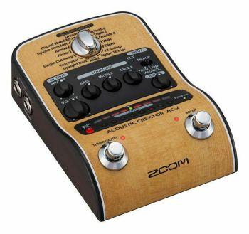 Zoom AC-2 pedale per chitarra acustica