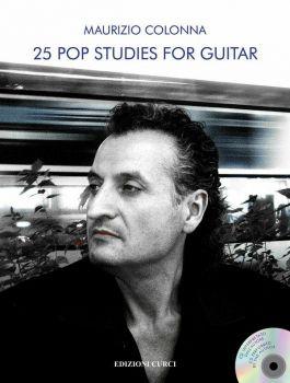 Maurizio Colonna 25 Pop Studies for Guitar + CD Audio