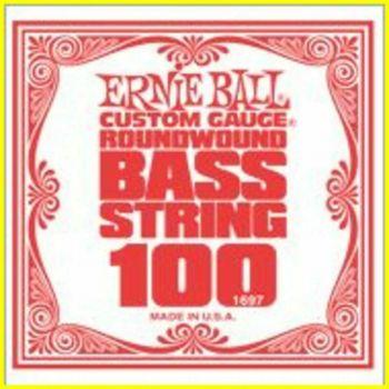 ERNIE BALL 1697 - corda .100 - avvolgitura in acciaio nichela