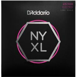 D'Addario NYXL45100, Set Long Scale, Regular Light, 45-100