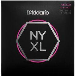 D'Addario NYXL45130, Set Long Scale, Regular Light 5-String, 45-130