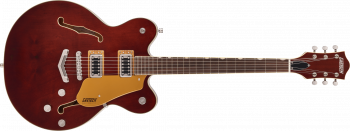 Gretsch G5622 Electromatic Center Block Double-Cut with V-Stoptail, Laurel Fingerboard, Aged Walnut