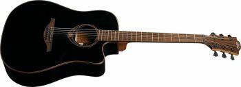 Lag Guitars T118DCE-BLK  Black acustica elettrificata