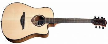 Lag Guitars T318DCE - natural acustica elettrificata