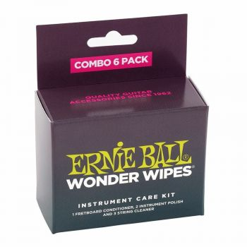 Ernie Ball 4279  Wonder Wipes Multi-pack