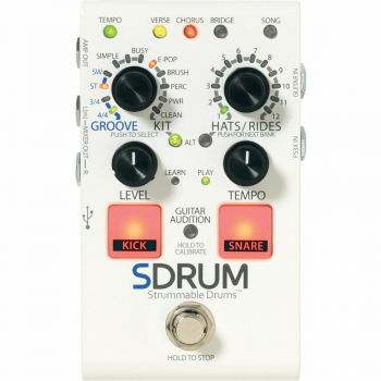 Digitech - SDRUM Drum Machine per Chitarristi e Bassisti