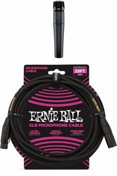 Shure SM57-LCE + Cavo Ernie ball 6073 xlr-xlr da metri 7,62