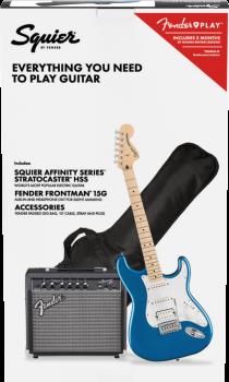 Fender Squier PK AF STRAT HSS MN LPB