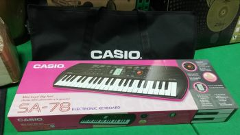 CASIO SA-78 Tastiera con 44 Minitasti con Borsa