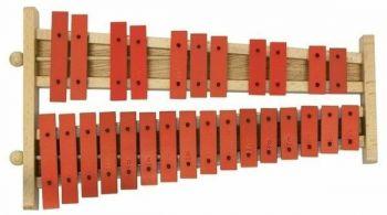 Gewa Glockenspiel G27 G27R Piastre rosse Cod.: 847.008