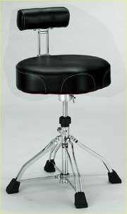 TAMA HT741B 1st Chair Ergo Rider - 4 gambe - seduta in PVC - con schienale SPEDIZIONE GRATUITA!!!