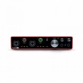 FOCUSRITE Scarlett 8i6 3rd Gen Interfaccia Audio USB 8 IN 6 OUT