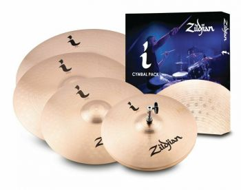 ZILDJIAN Cartone 5 I Pro Gig (ILHPRO): ride + hi-hat + 2 crash