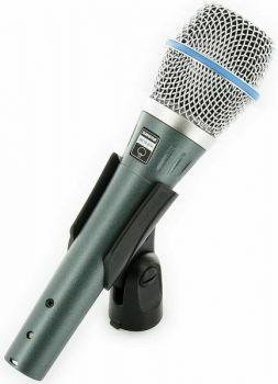SHURE BETA87A Microfono per voce, a condensatore, supercardioide SPEDIZIONE GRATUITA!!